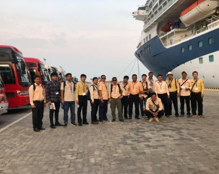 Laem Chabang Cruise Ship to Angkor Wat to Flight to Sihanoukville Port Autonomous Tour 3d2n