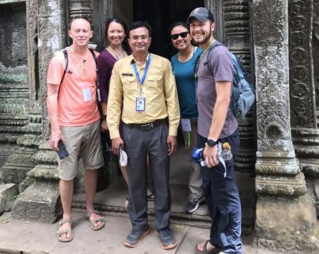 Angkor Wat Phnom Kulen Waterfall National Park Guided Tour 2d1n