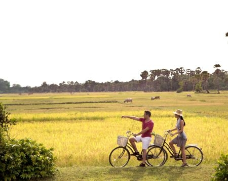 Sunset Siem Reap Countryside Bike Tour Option 7